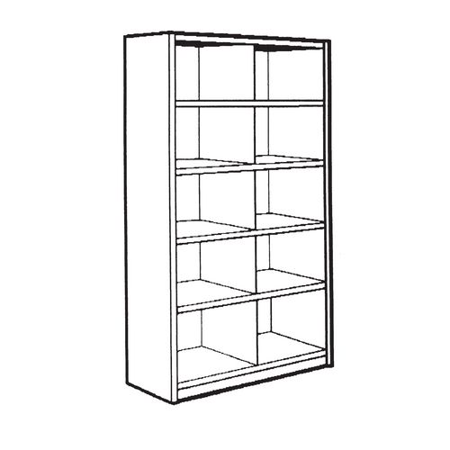Bin unit - 10 Compartments