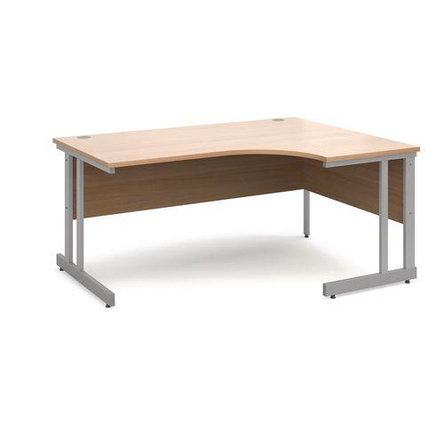 Express ergonomic desks right hand unit