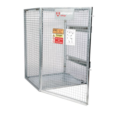 Tuffcage Gas Storage Cage 1200x1200x1800h Security Cages