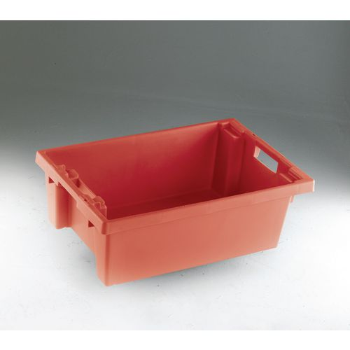 Containers Solid side stack and nest containers - 32L