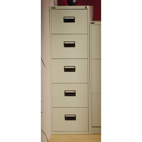 Steel 5 Drawer tall filing cabinets