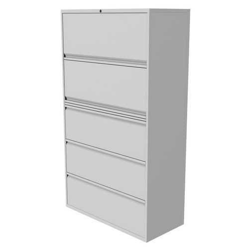 Steel Combination flipper and drawer units