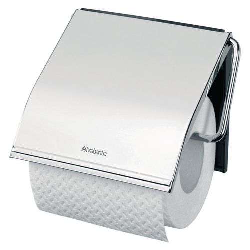 Toilet Tissue & Dispensers CLASSIC TOILET ROLL HOLDER BRILLIANT STEEL