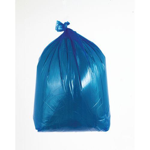 90L Coloured bin bags , blue medium duty