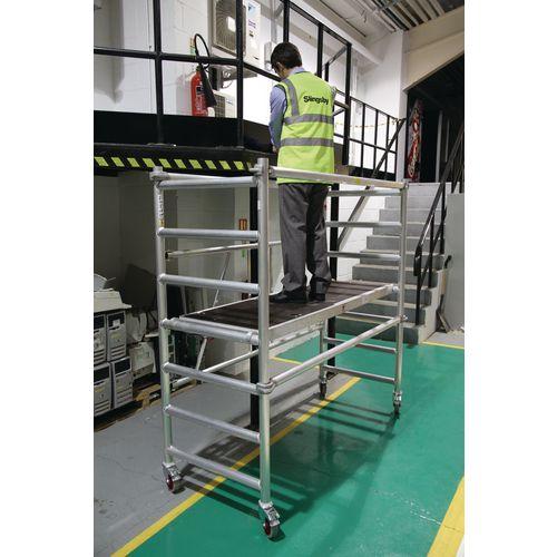 Mobile work platform and tower - Standard platform height 1020mm (1780mm as optional extra)