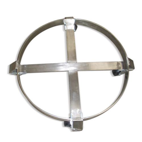 Drum dolly, stainless steel