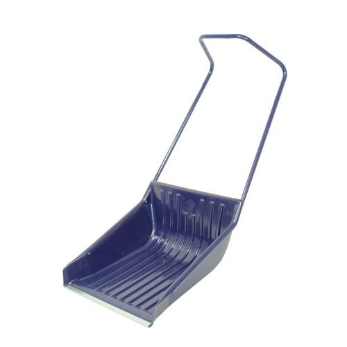 Ergonomic sleigh shovel
