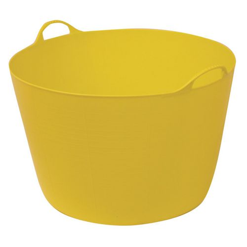Litter Picker EXTRA LARGE 75 LITRE GORILLA TUB YELLOW