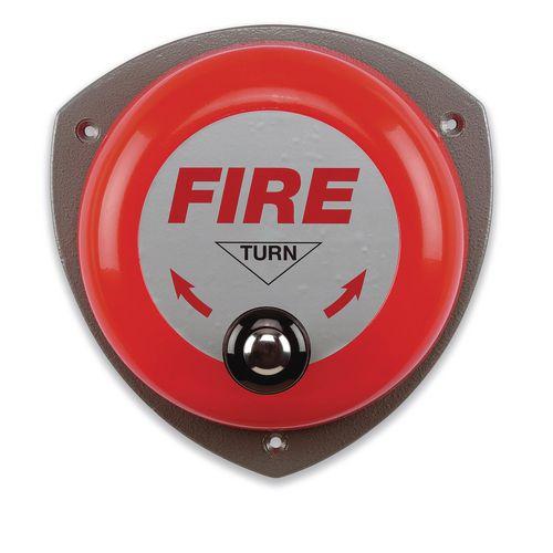 Smoke Alarms ROTARY HAND BELL - -
