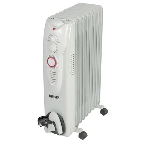 Oil Filled Radiators Oil filled radiator - 2kw / 9 fin with 24hr timer