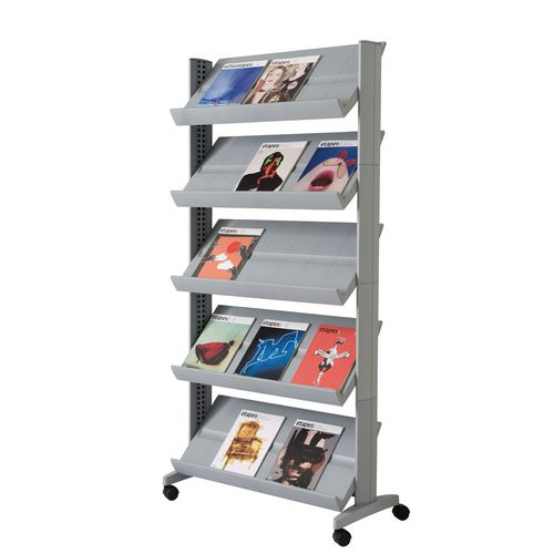 Certificate / Photo Frames SINGLE SIDED LITERATURE DISPLAY SILVER