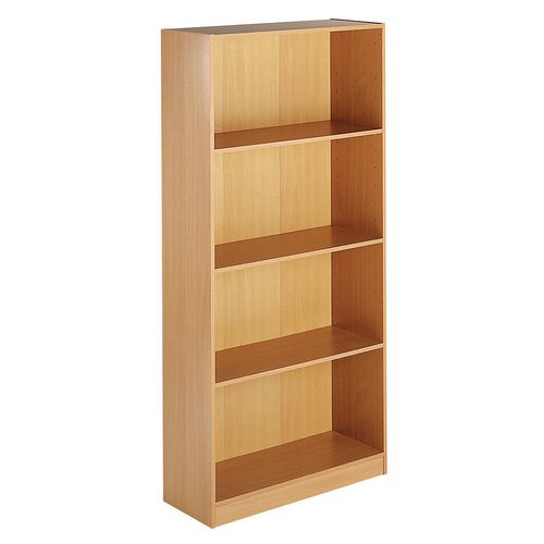 Up To 1200mm High Deluxe open bookcase