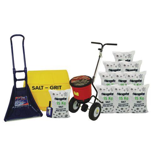 Grit Bins & Accessories Small business winter kit