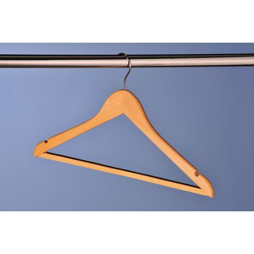 Coat Hangers Hangers - Wooden - removable