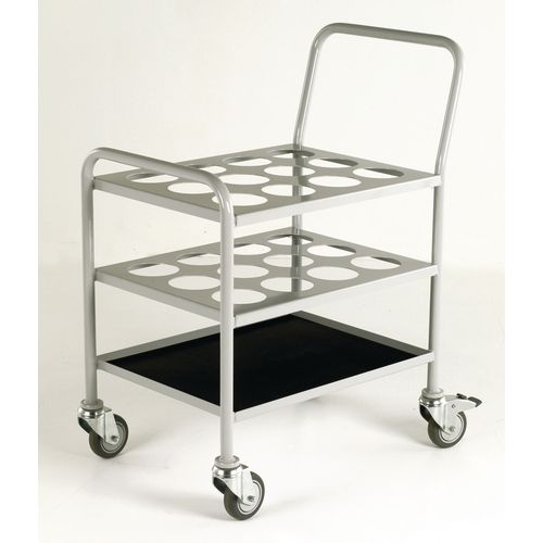 Small oxygen cylinder trolley (hospital use only)