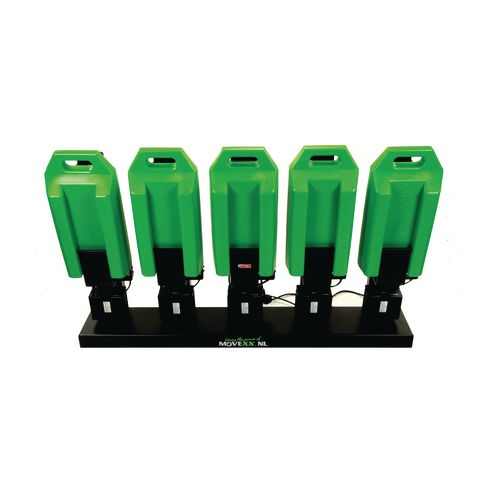 Electric drive power tug mutiple battery charger