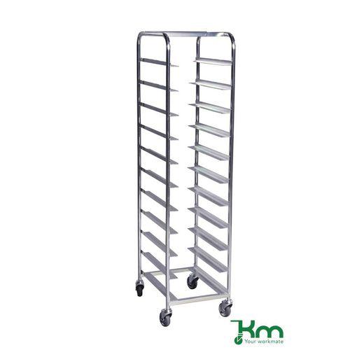 Filing Bin & tray trolleys, with 11 levels