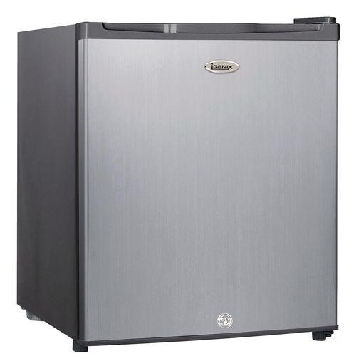 Kitchen Appliances 47 LITRE COUNTER TOP FRIDGE  WITH LOCK STAINLESS STEEL EFFECT DOOR