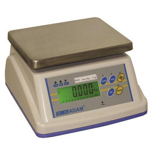 Scales Wash down bench-top scales, capacity 2kg