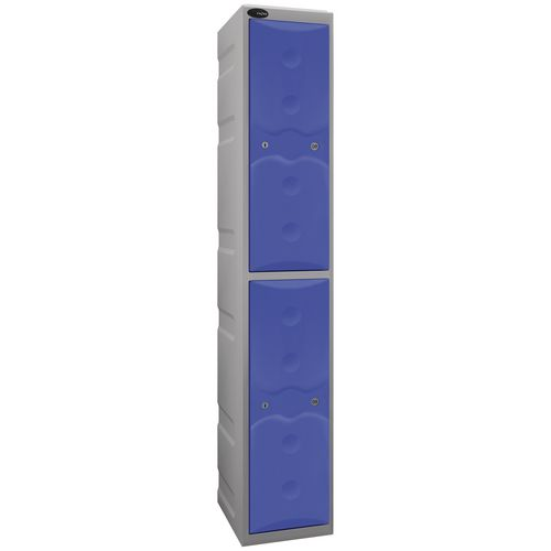Over 1200mm High Full height weatherproof plastic lockers