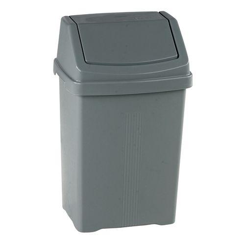 Plastic swing bins 25L