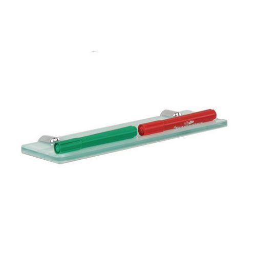 Pen Tray WRITE-ON GLASS WHITEBOARD PEN TRAY