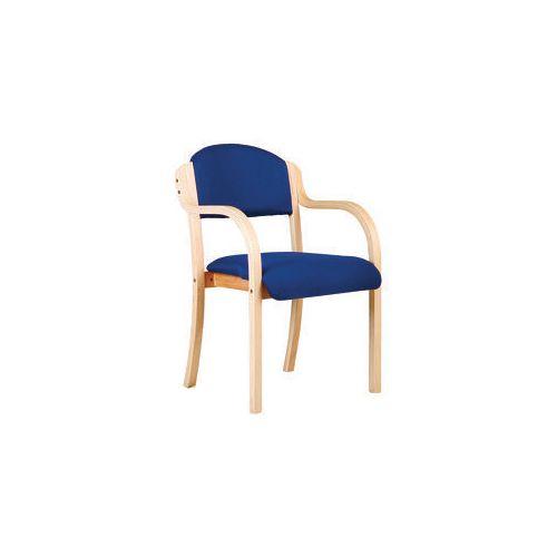 Stackable reception armchair