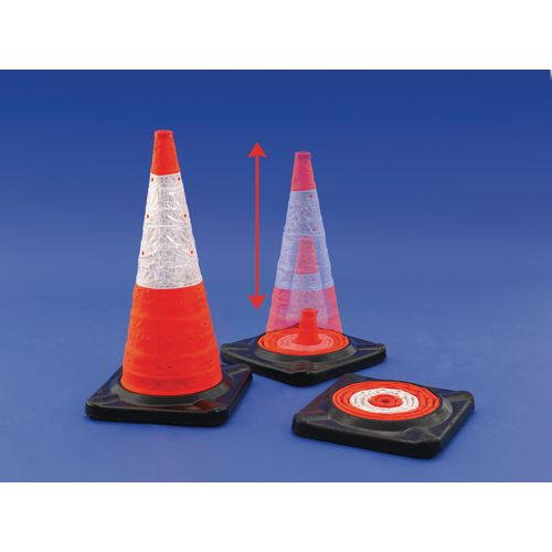 Vehicle Equipment / Supplies FULLY COMPLIANT, SPACE-SAVING 750MM CONE SOLUTION.