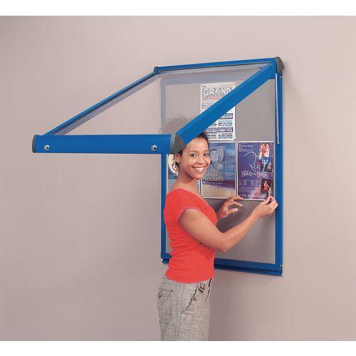 Sheild® Deluxe lockable office noticeboards