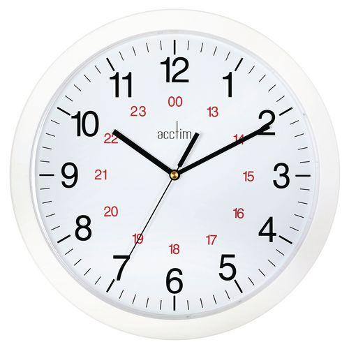 Wall 24 hour wall clock