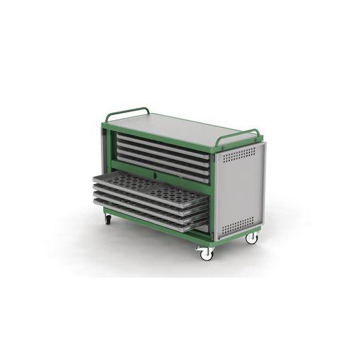 Filing Heavy duty laptop storage trolley