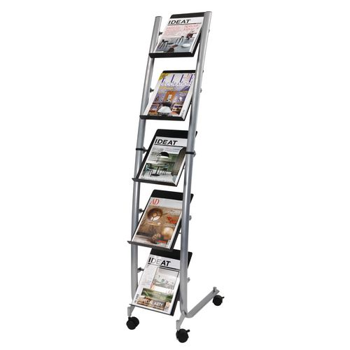 Literature Holders Mobile literature display stand