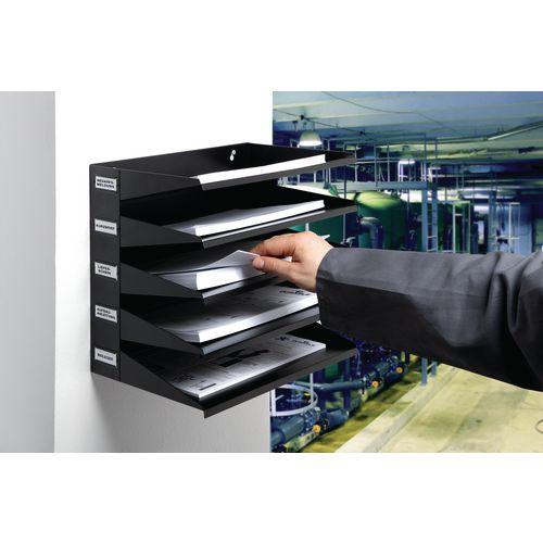 Literature Holders Metal sorter racks