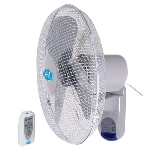 Wall Mount Fans With Remote : Quot remote controlled wall mounted fan fans