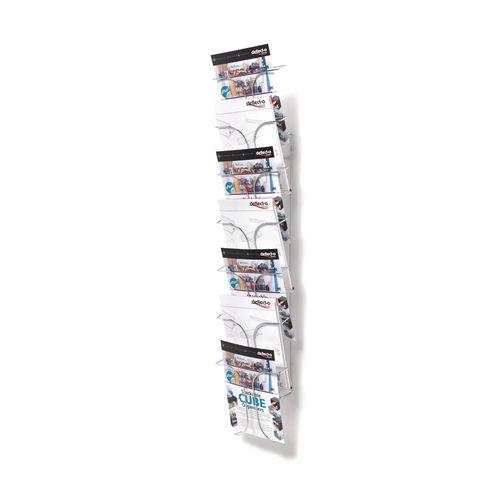 Literature Holders Wall mounted wire literature dispenser