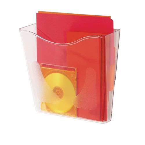 Literature Holders Clear document pockets