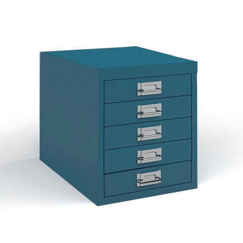 Steel Bisley multi drawer units