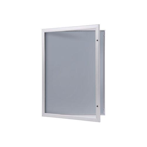 Certificate / Photo Frames Lockable aluminium poster frame