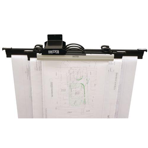 Drawing Holders & Accessories Hang-a-plan wall mounted plan filing racks