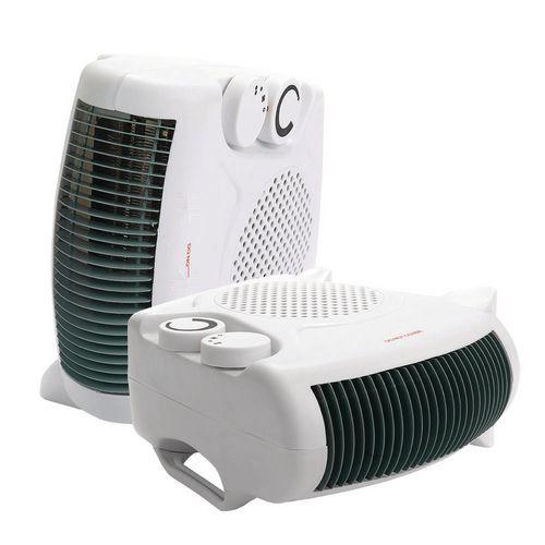 Fan Heaters DUAL POSITION  FAN HEATER 2000w WHITE