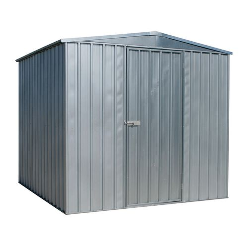 Galvanised steel shed - Large