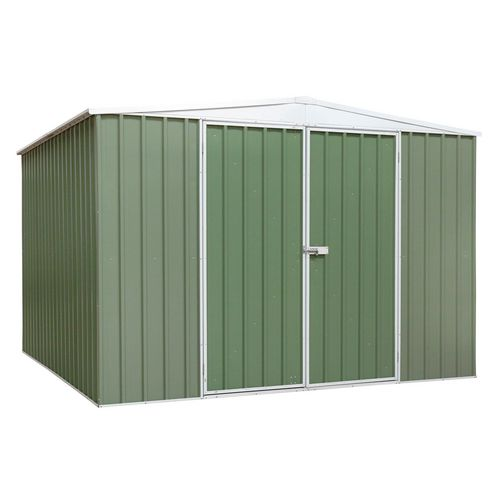 Galvanised steel shed - Extra large