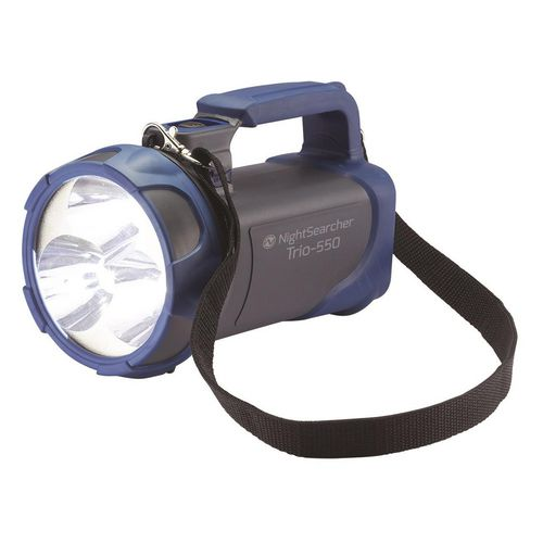Handheld RECHARGEABLE HANDLAMP, GREY