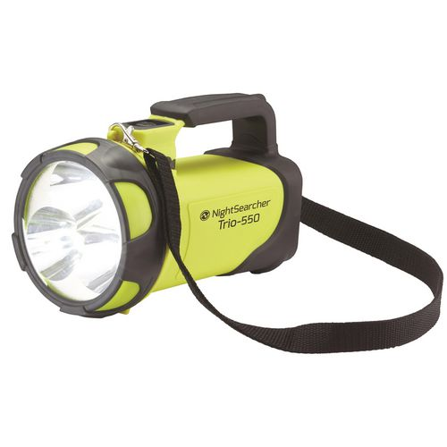 Handheld RECHARGEABLE HANDLAMP, YELLOW