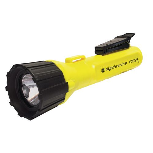 Handheld NON RECHARGEABLE SAFETY FLASHLIGHT, CREE XP-e LED