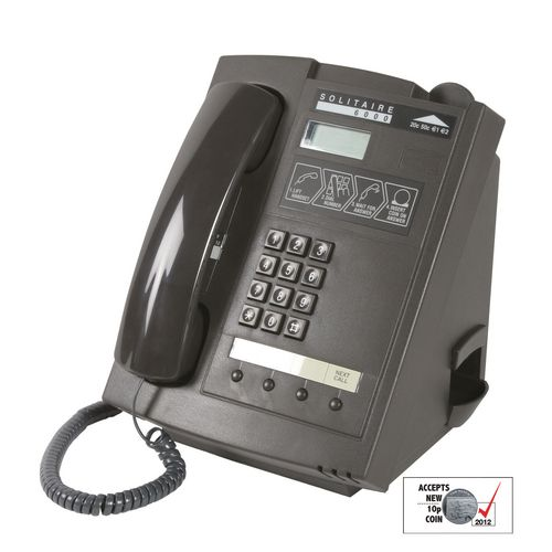 Solitaire 6000 Payphone - Telephone Equipment ...