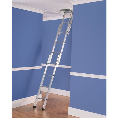 Two and three section loft ladders