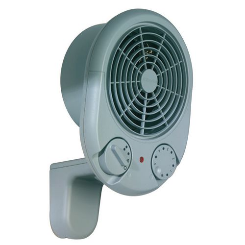 wall mounted fan heater two heat settings with free uk. Black Bedroom Furniture Sets. Home Design Ideas