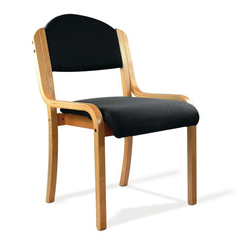 Stacking Chairs Beech frame stacking chair