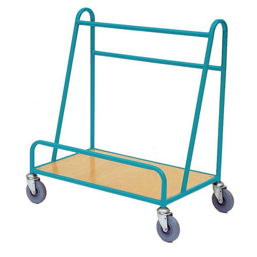 Plywood deck board trolley